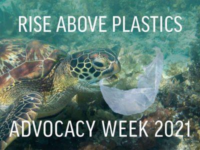 "PFI announces co-sponsorship of ""Rise above Plastics Advocacy Week"""